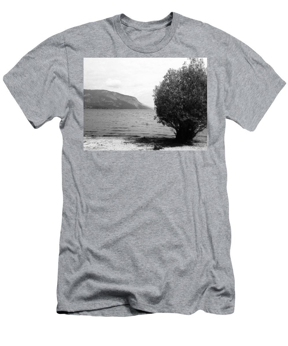 Landscapes Men's T-Shirt (Athletic Fit) featuring the photograph Forgive My Intension by The Artist Project