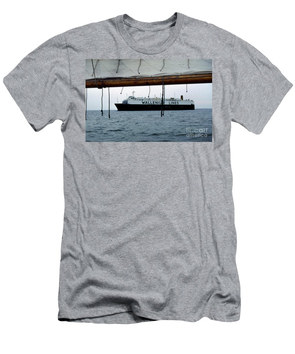 Maritime Men's T-Shirt (Athletic Fit) featuring the photograph Generations by Skip Willits