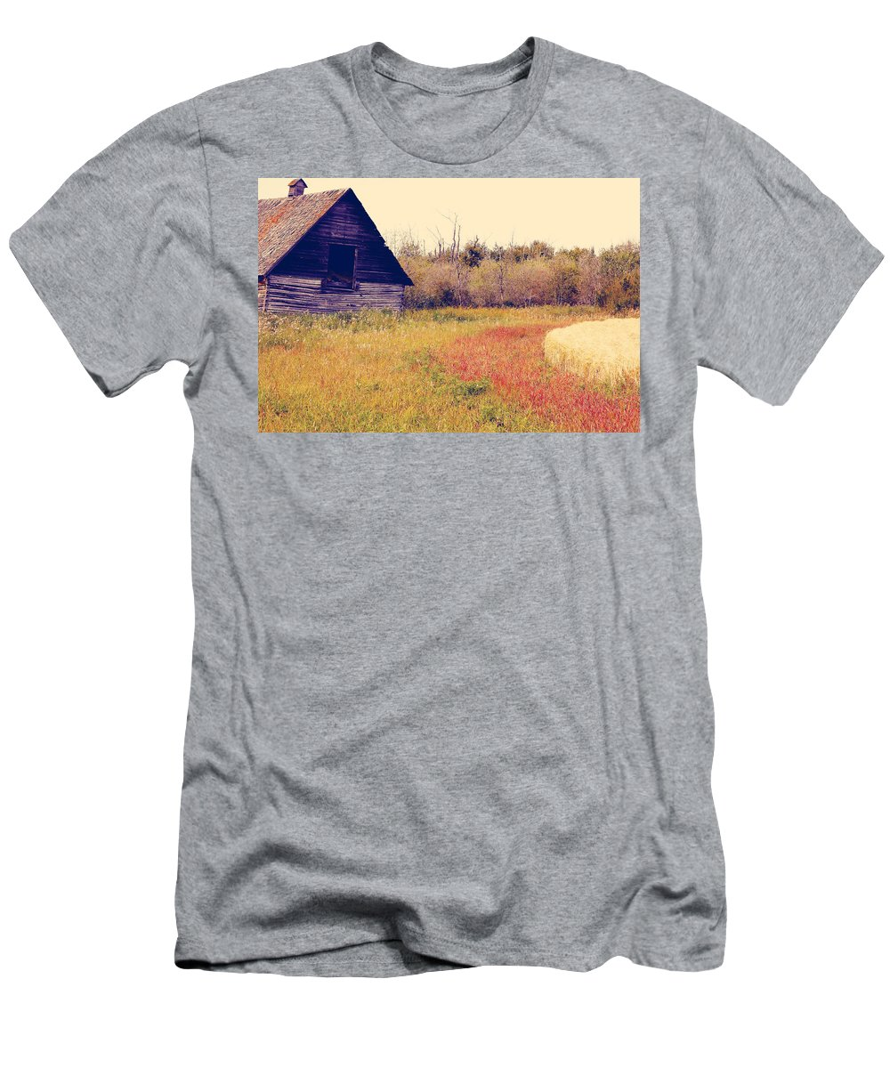 Landscapes Men's T-Shirt (Athletic Fit) featuring the photograph Gently Call Out by The Artist Project