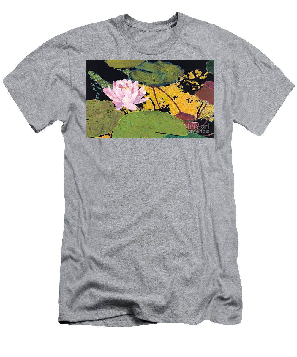 Landscape Men's T-Shirt (Athletic Fit) featuring the painting Georgia Summer by Allan P Friedlander