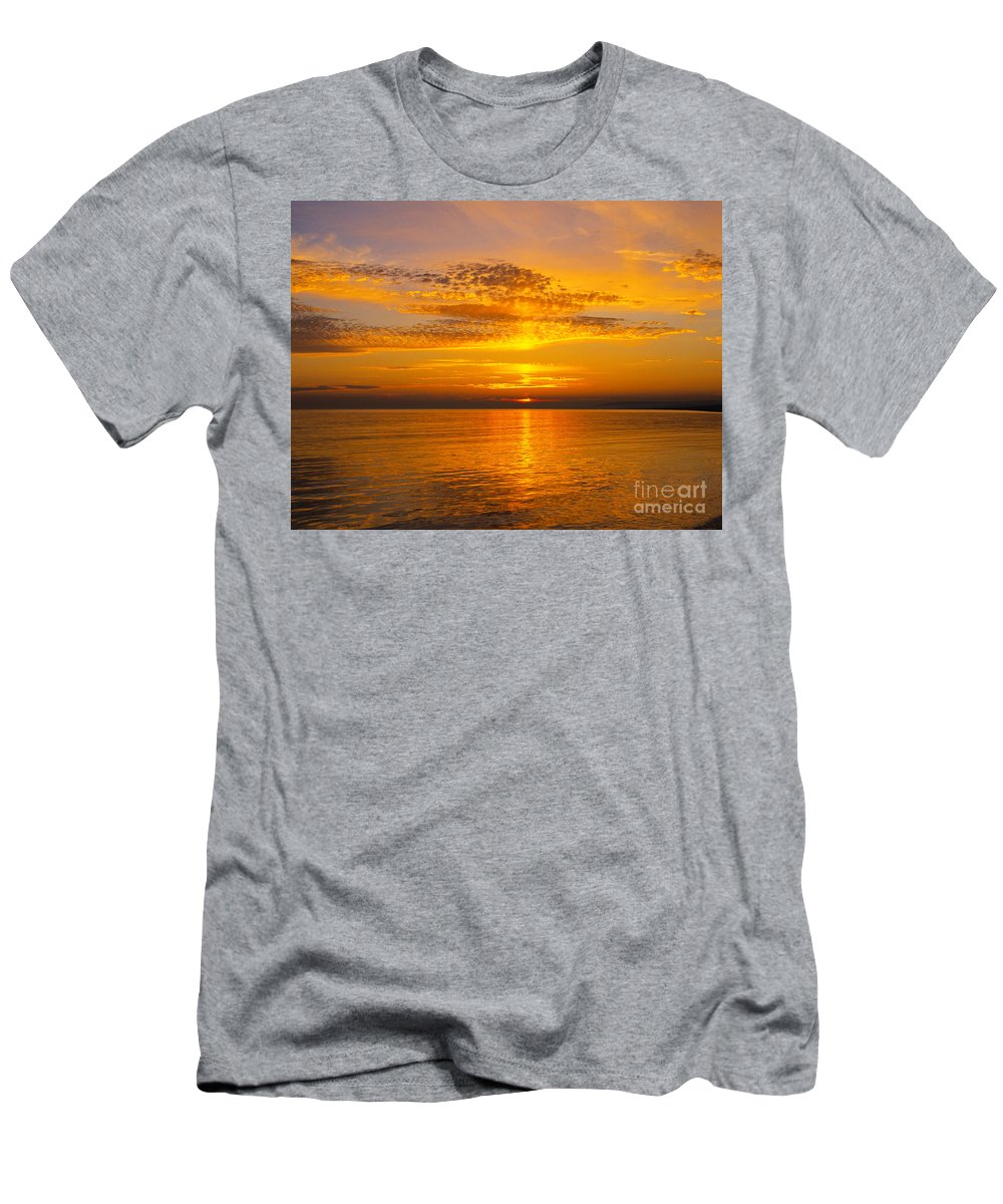 Dorset Men's T-Shirt (Athletic Fit) featuring the photograph Glory Of Nature by Lana Enderle