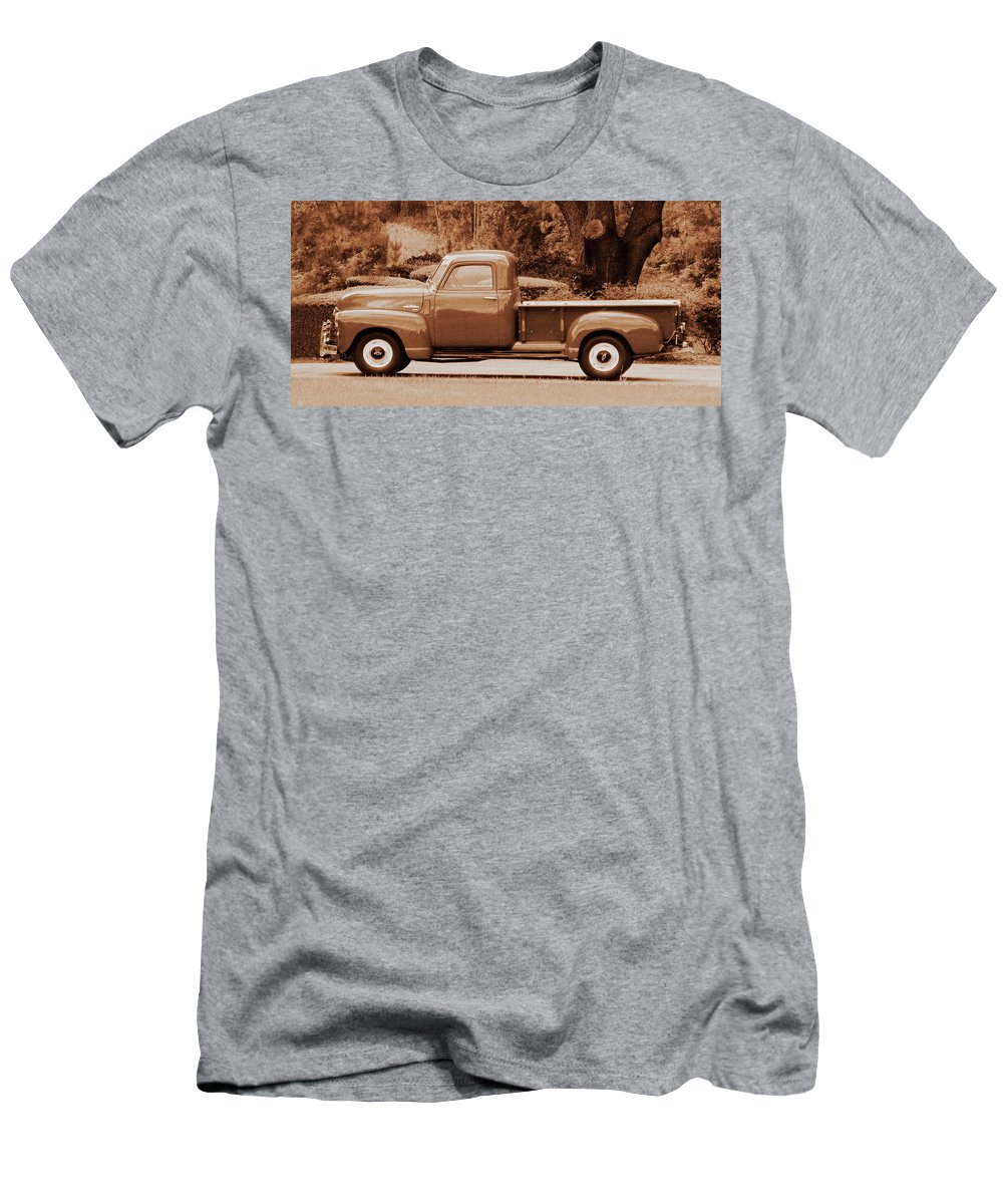 Antique Men's T-Shirt (Athletic Fit) featuring the photograph Gmc 100 by Peg Urban