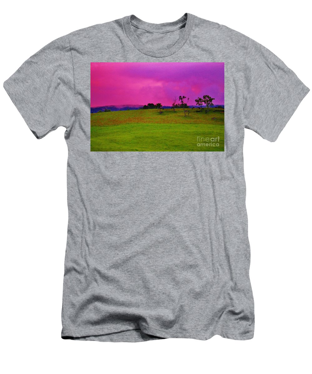 Kerisart Men's T-Shirt (Athletic Fit) featuring the photograph God's Palace by Keri West