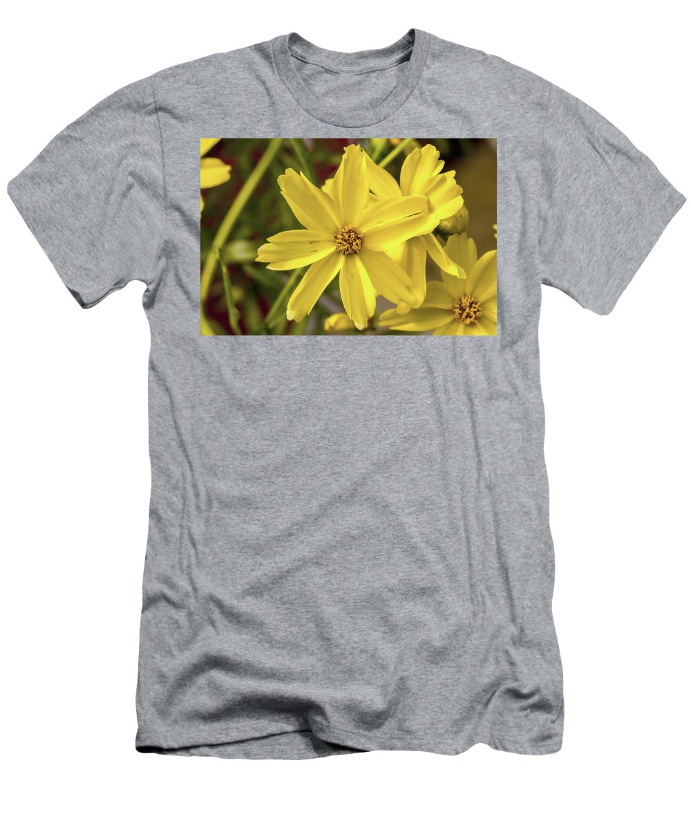 Yellow Men's T-Shirt (Athletic Fit) featuring the photograph Golden by Pablo Rosales