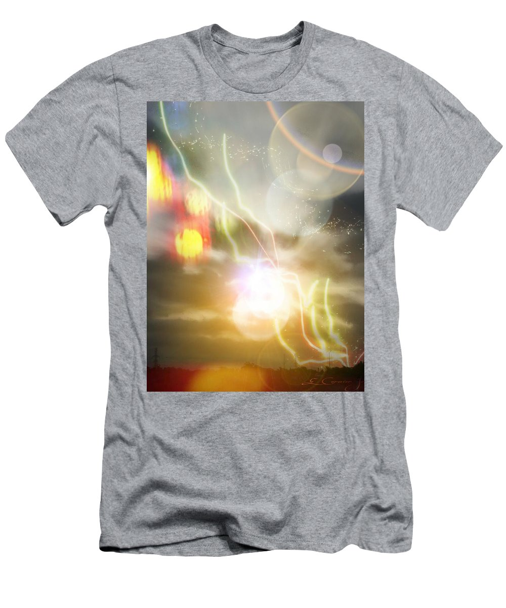 Clouds T-Shirt featuring the digital art Good Morning by Edward Cormier Jr