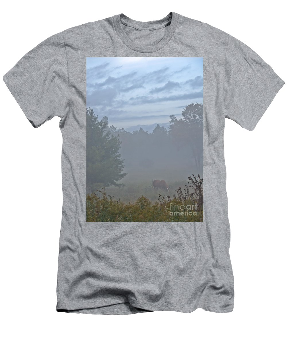 Men's T-Shirt (Athletic Fit) featuring the photograph Gorgeous Morning by Cheryl Baxter