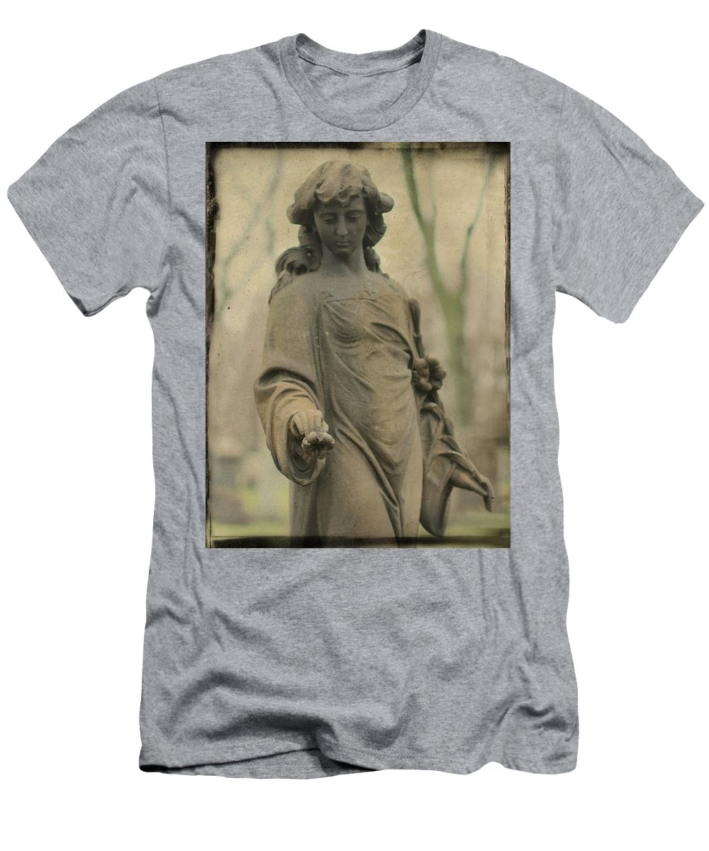 Gothic Men's T-Shirt (Athletic Fit) featuring the photograph Gothic Stone by Gothicrow Images