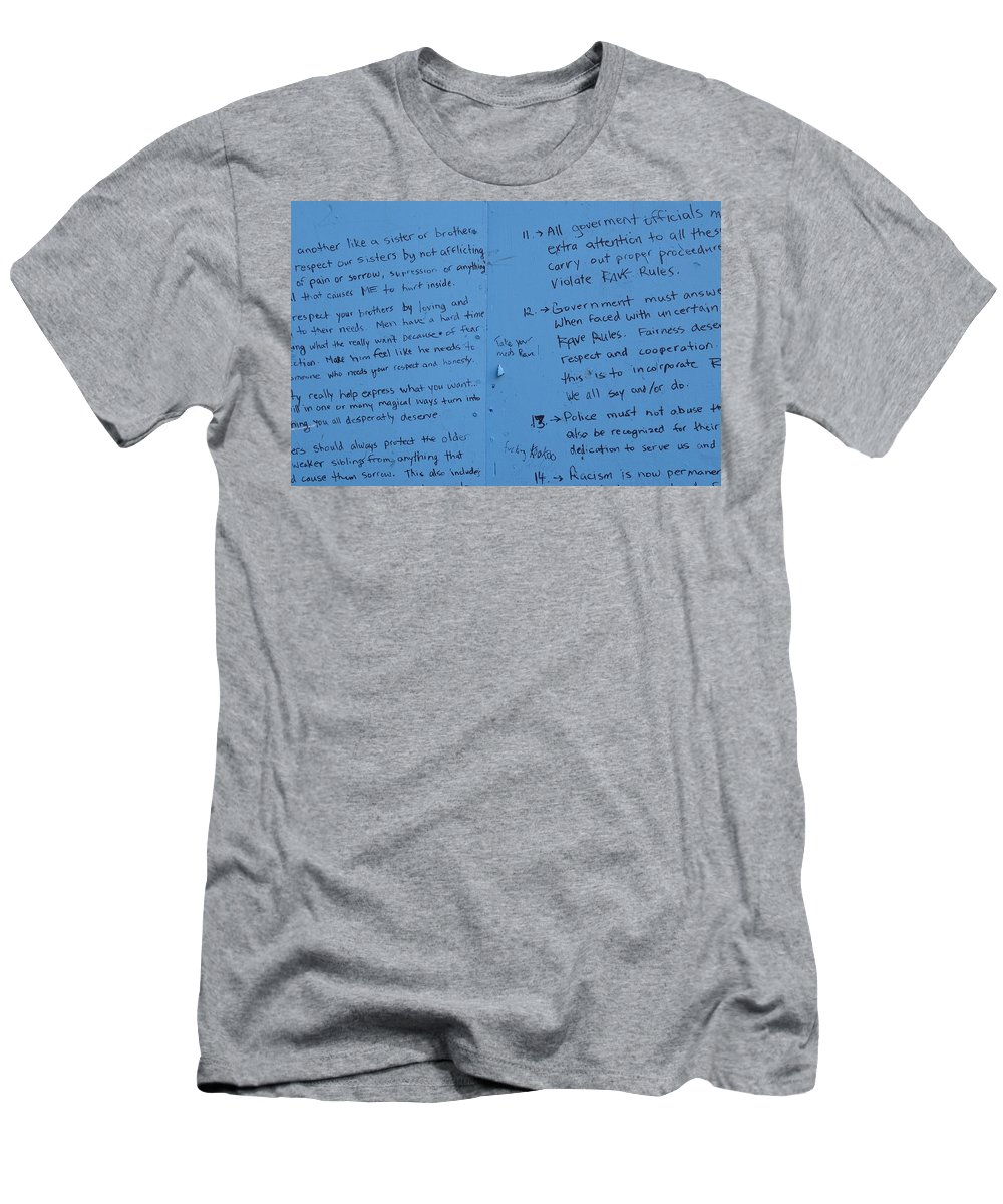 Vancouver Men's T-Shirt (Athletic Fit) featuring the photograph Government Rules by The Artist Project