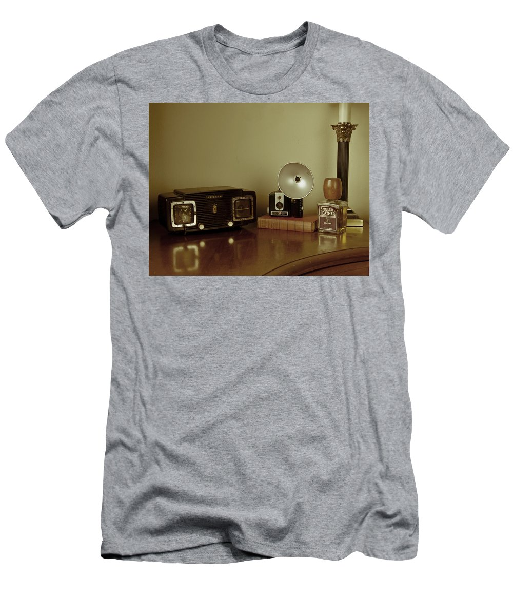 Nostalgia Men's T-Shirt (Athletic Fit) featuring the photograph Grandpa's Favorites by Guillermo Rodriguez