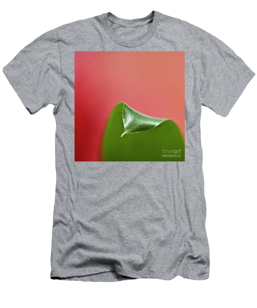Heiko Men's T-Shirt (Athletic Fit) featuring the photograph Green And Red by Heiko Koehrer-Wagner