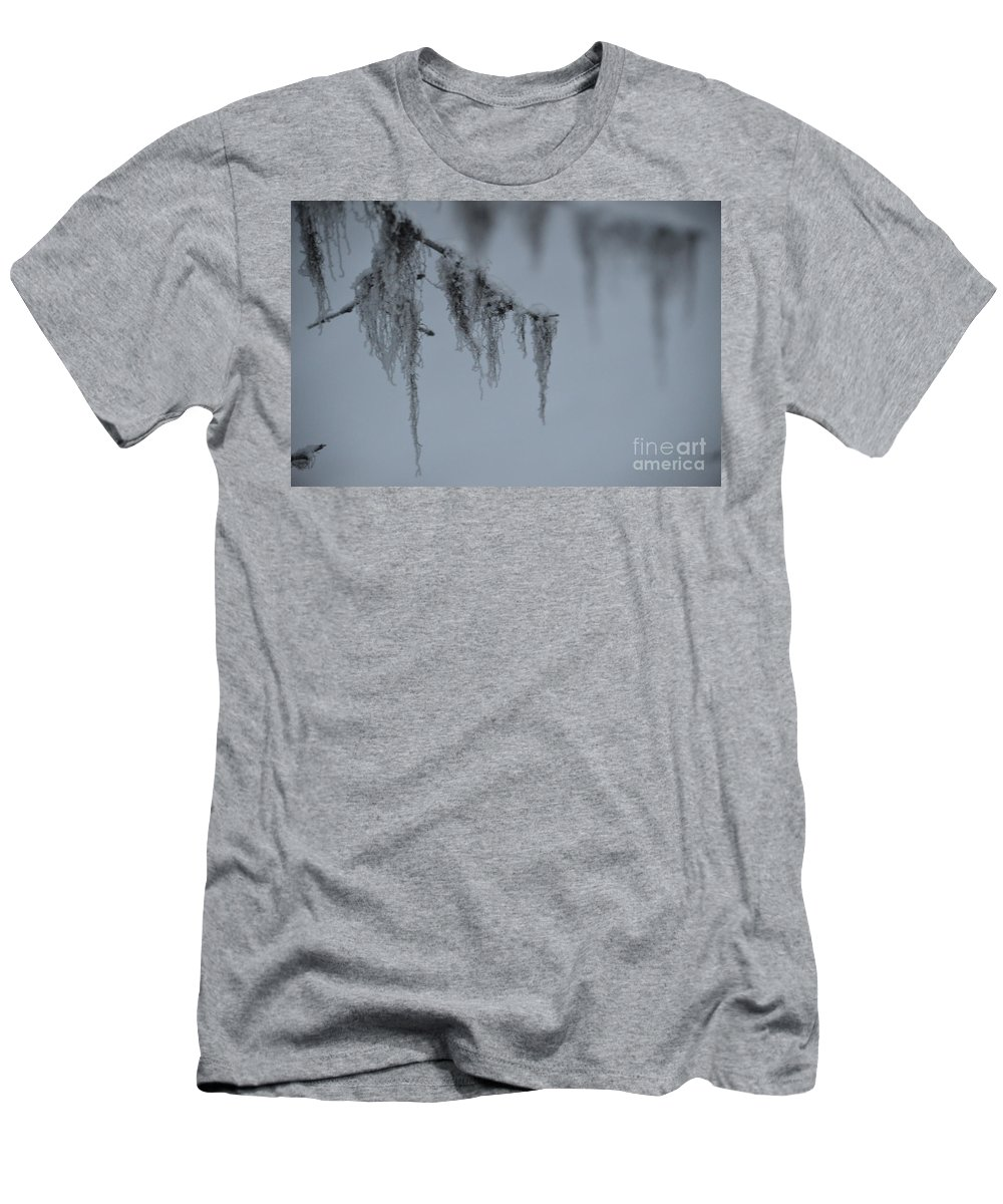 Frost Men's T-Shirt (Athletic Fit) featuring the photograph Grey Beard by Brian Boyle