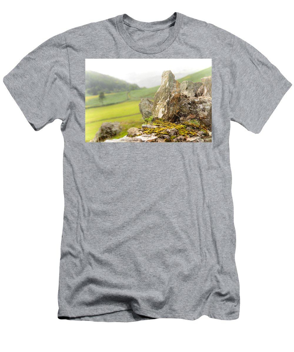 Jenny Rainbow Fine Art Photography Men's T-Shirt (Athletic Fit) featuring the photograph History And Nature. Wicklow. Ireland by Jenny Rainbow