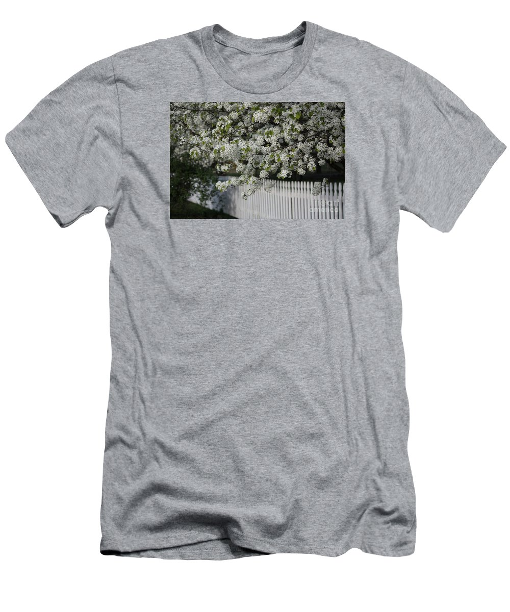 Visions Of Spring Men's T-Shirt (Athletic Fit) featuring the photograph In Full Bloom by Luv Photography