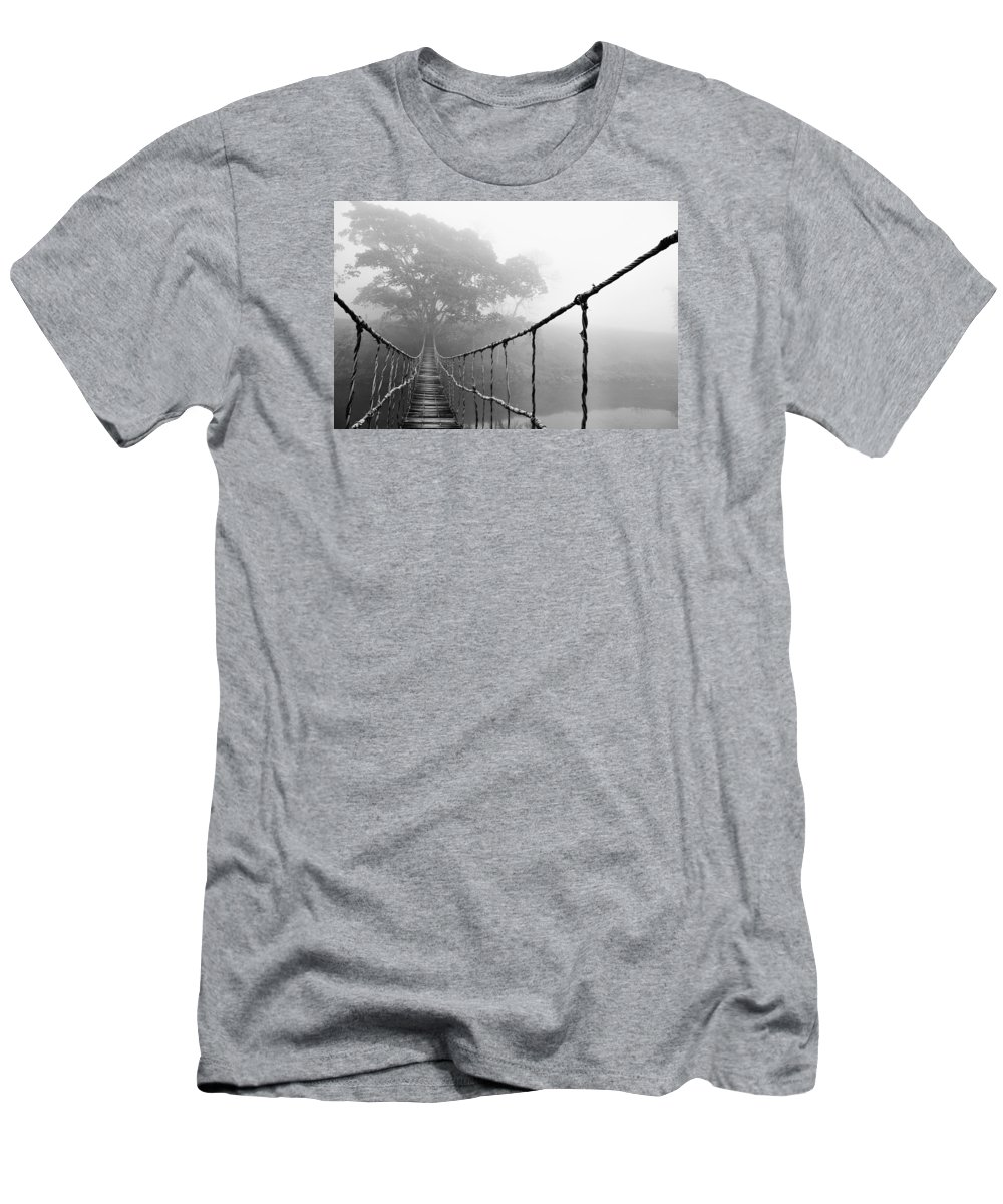 Absence T-Shirt featuring the photograph Jungle Journey 5 by Skip Nall