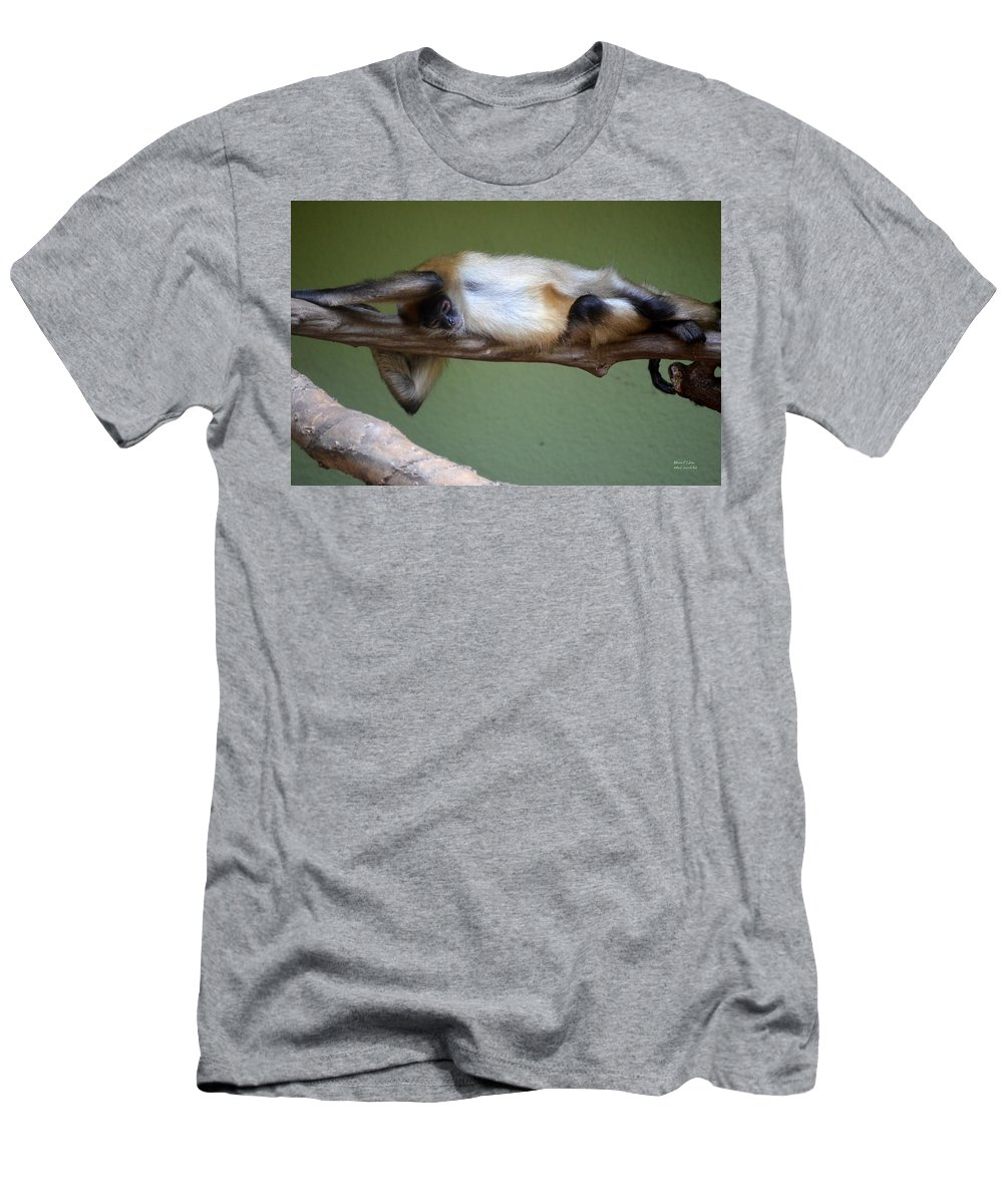 Just Hanging About Men's T-Shirt (Athletic Fit) featuring the photograph Just Hanging About by Maria Urso