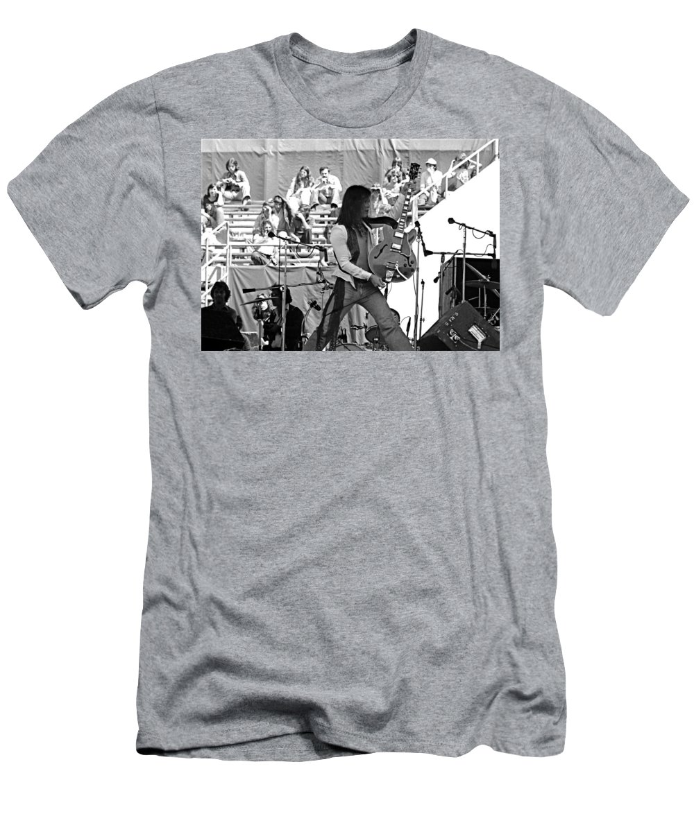 Floyd Radford Men's T-Shirt (Athletic Fit) featuring the photograph Jwinter #30 by Ben Upham