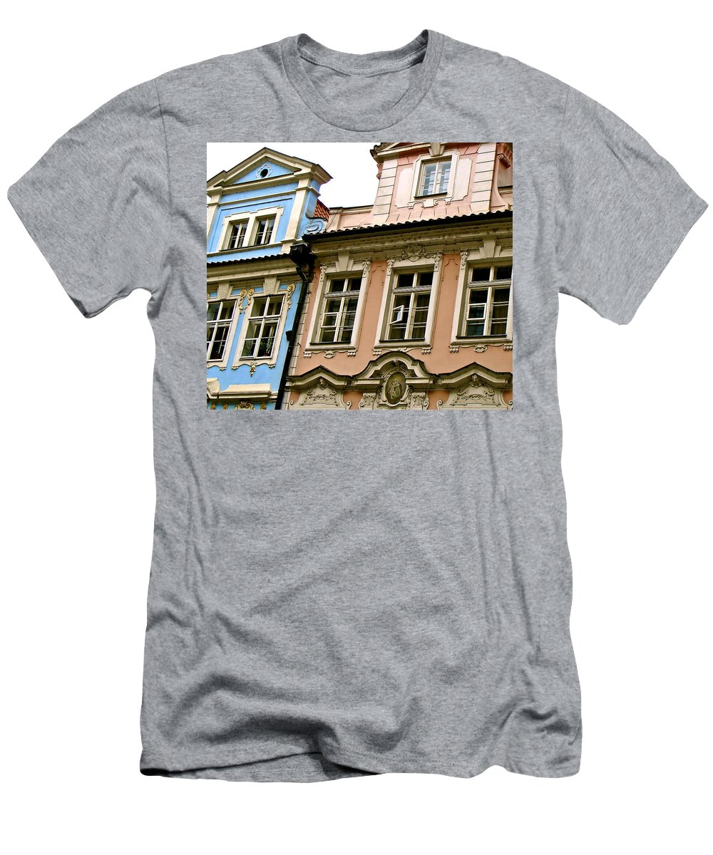 Franz Kafka Men's T-Shirt (Athletic Fit) featuring the photograph Kafka's Dream by Ira Shander