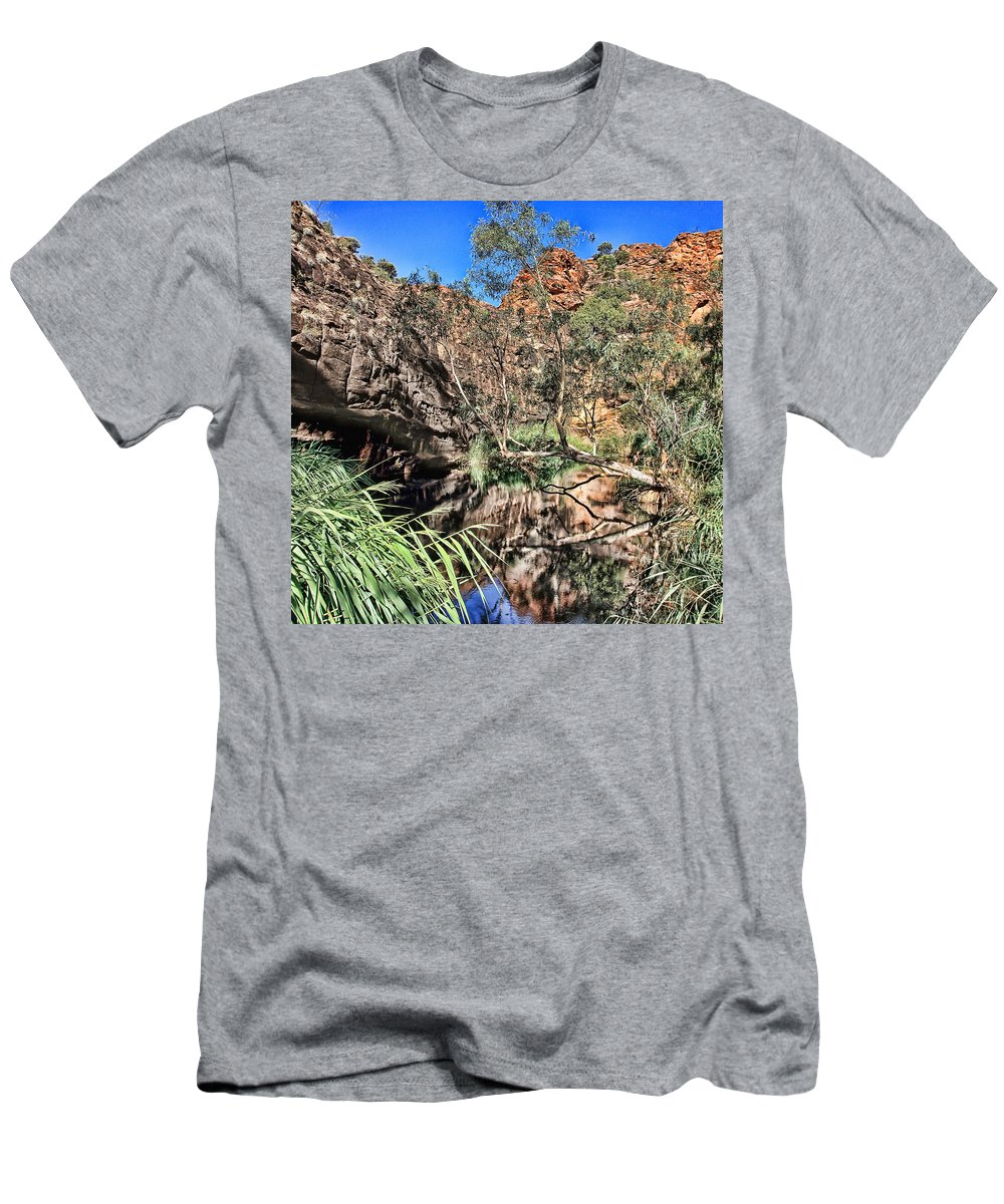 Kathleen Springs Men's T-Shirt (Athletic Fit) featuring the photograph Kathleen Springs V3 by Douglas Barnard