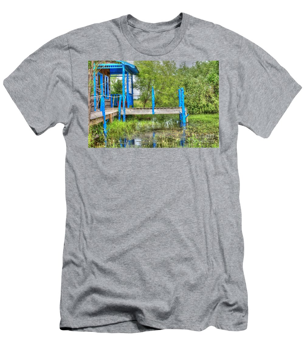 Kickin It In Rural Missouri Men's T-Shirt (Athletic Fit) featuring the photograph Kickin It In Rural Missouri by Liane Wright