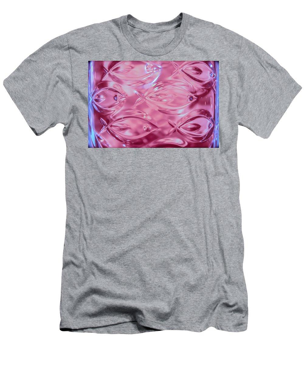 Lead Crystal Vase Men's T-Shirt (Athletic Fit) featuring the photograph Lead Crystal Vase 2 by Sherman Perry