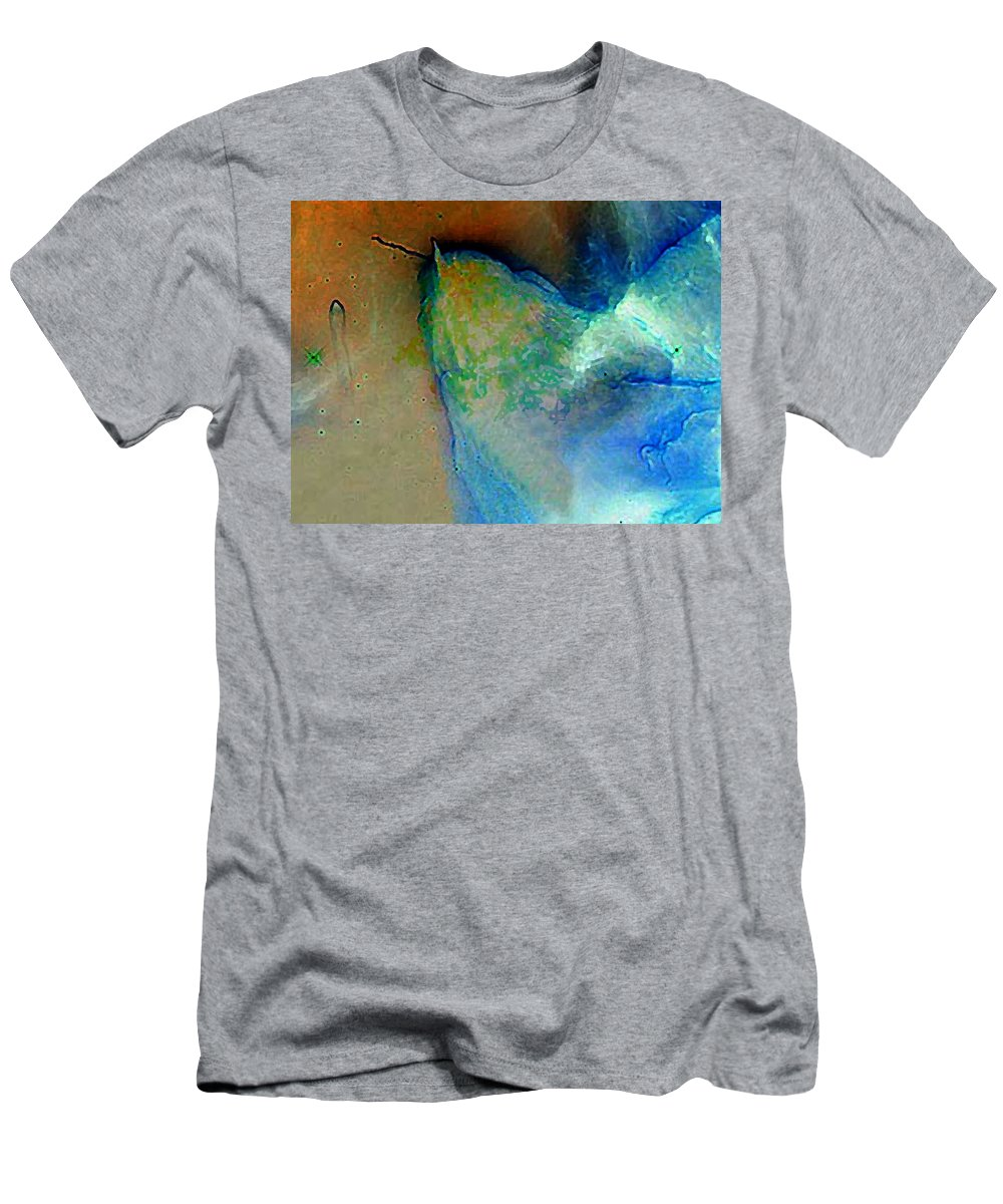 Leo Men's T-Shirt (Athletic Fit) featuring the digital art Leo Rising by Gail Daley