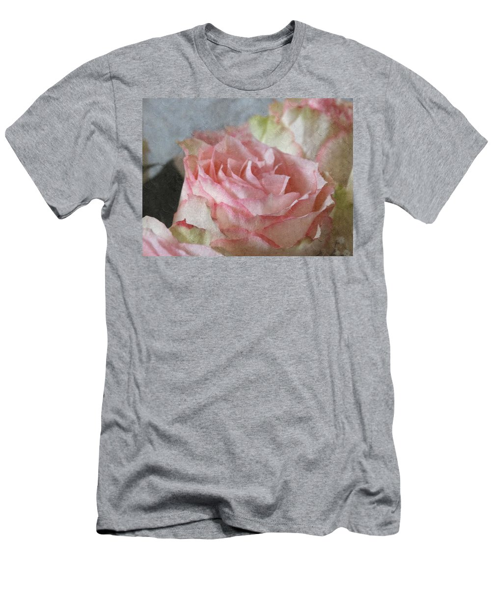 Rose Men's T-Shirt (Athletic Fit) featuring the photograph Love At First Sight by Annie Adkins