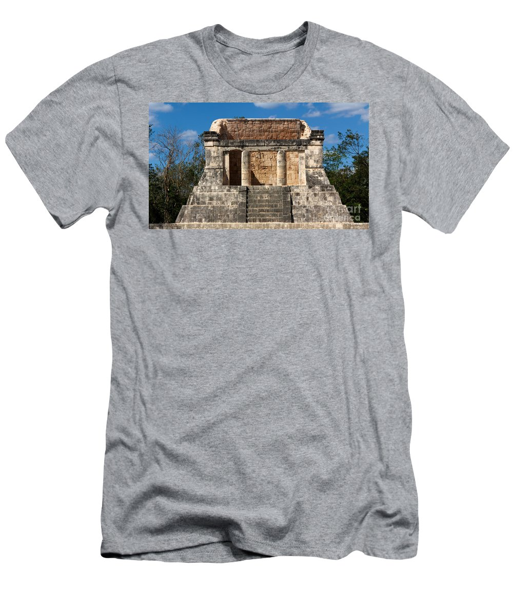 Ancient Men's T-Shirt (Athletic Fit) featuring the photograph Mayan Palace by Jannis Werner