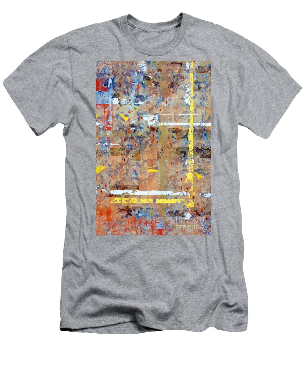 Abstract Men's T-Shirt (Athletic Fit) featuring the photograph Messy Background by Carlos Caetano