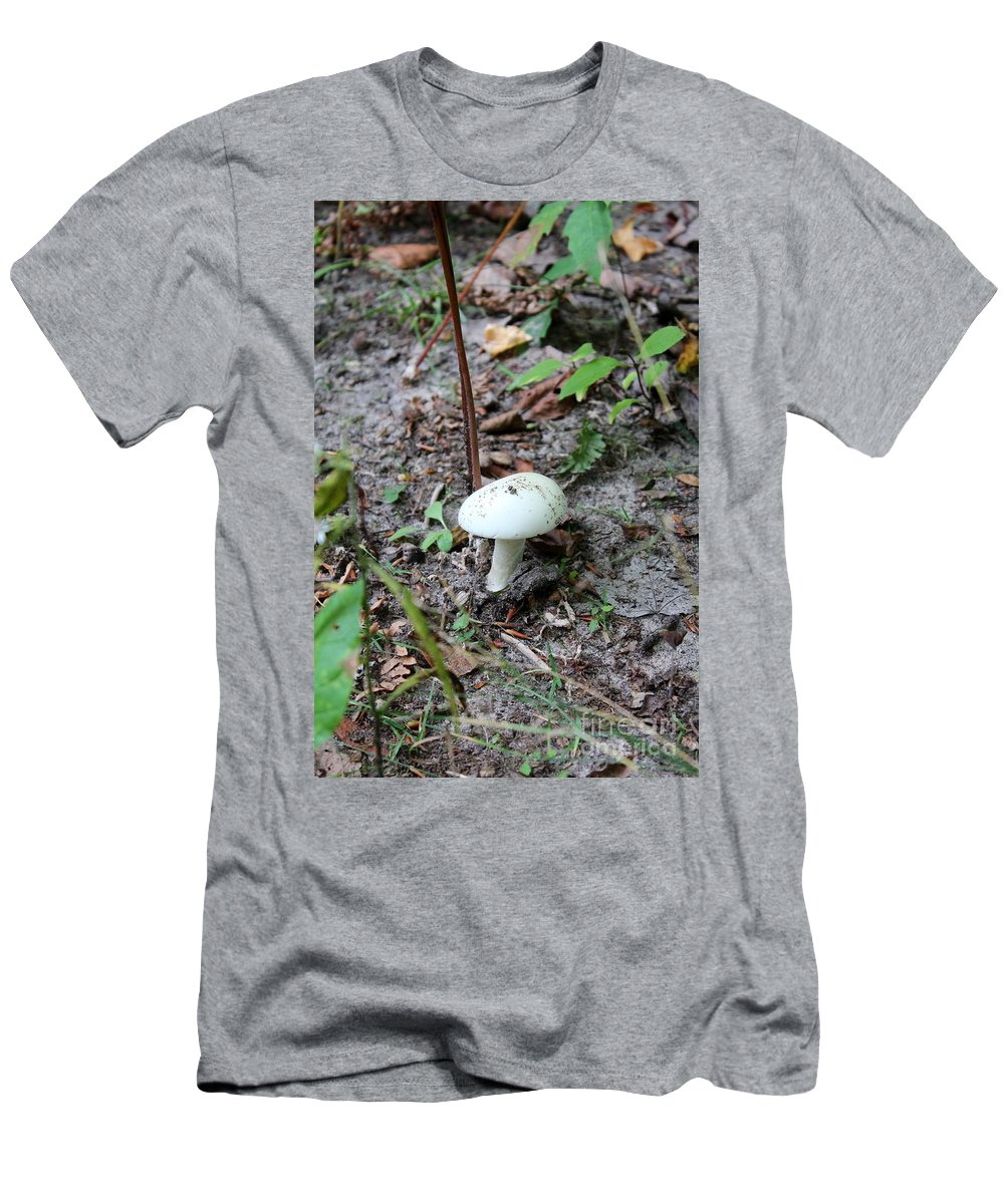 Fungus Men's T-Shirt (Athletic Fit) featuring the photograph Michigan Fungus 3 by Stephanie Kripa