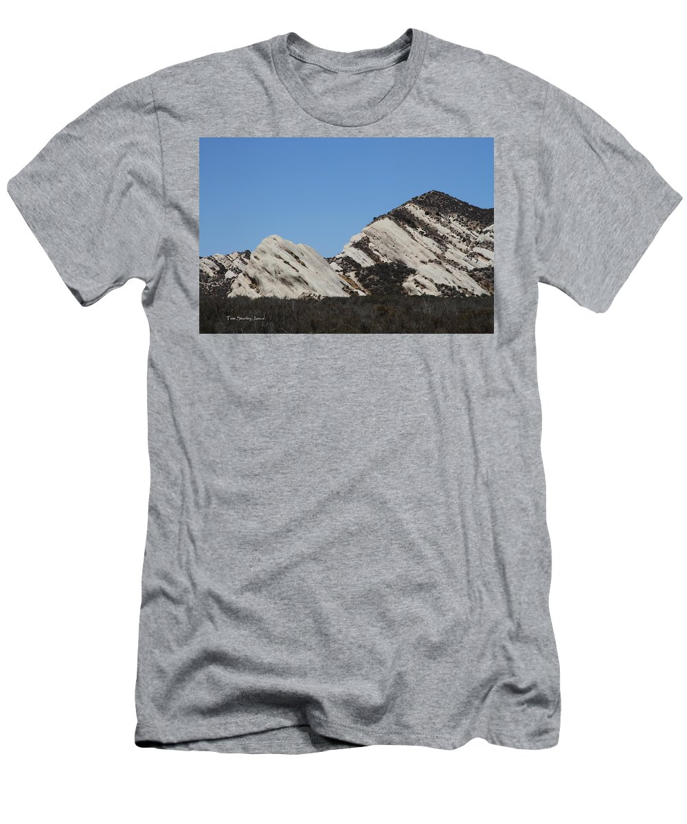 Morman Rocks Men's T-Shirt (Athletic Fit) featuring the photograph Morman Rocks by Tom Janca