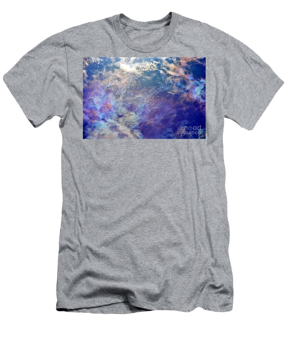 Sky Men's T-Shirt (Athletic Fit) featuring the photograph Morning Bright by Tamara Michael