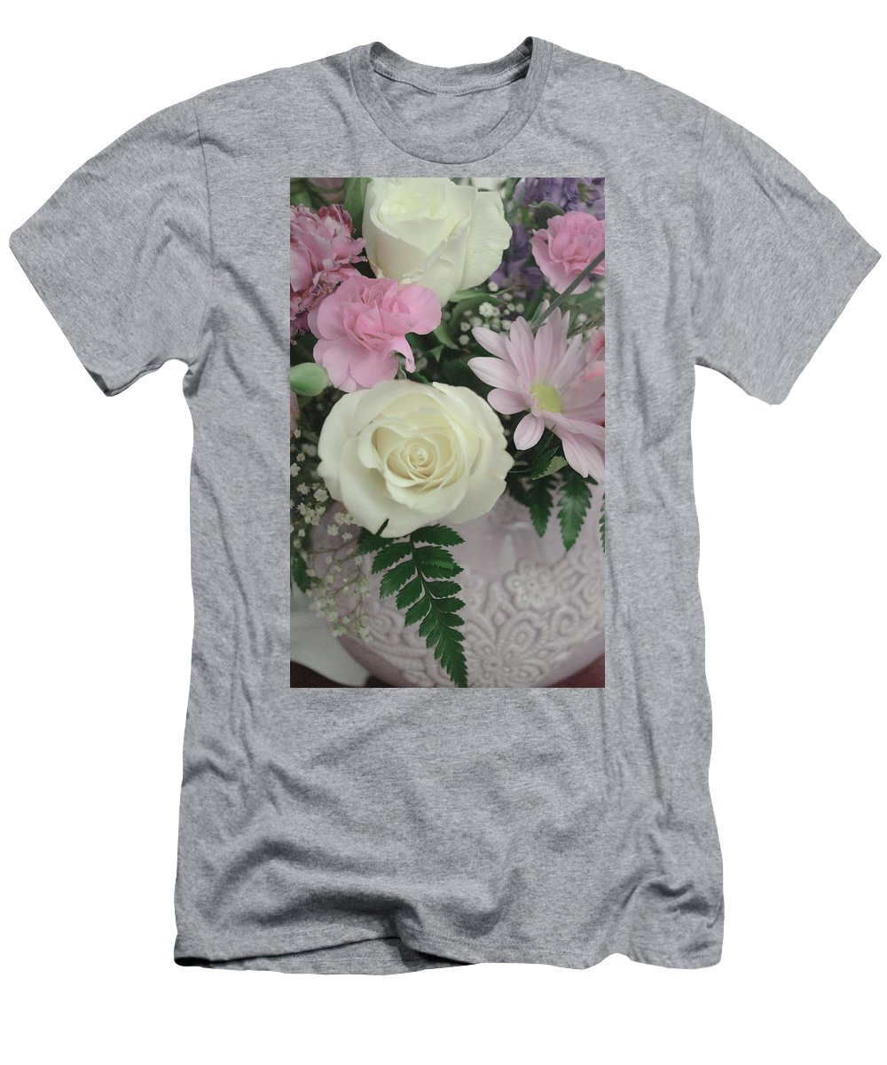 Happy Mothers Day Men's T-Shirt (Athletic Fit) featuring the photograph Mothers Day by Tikvah's Hope