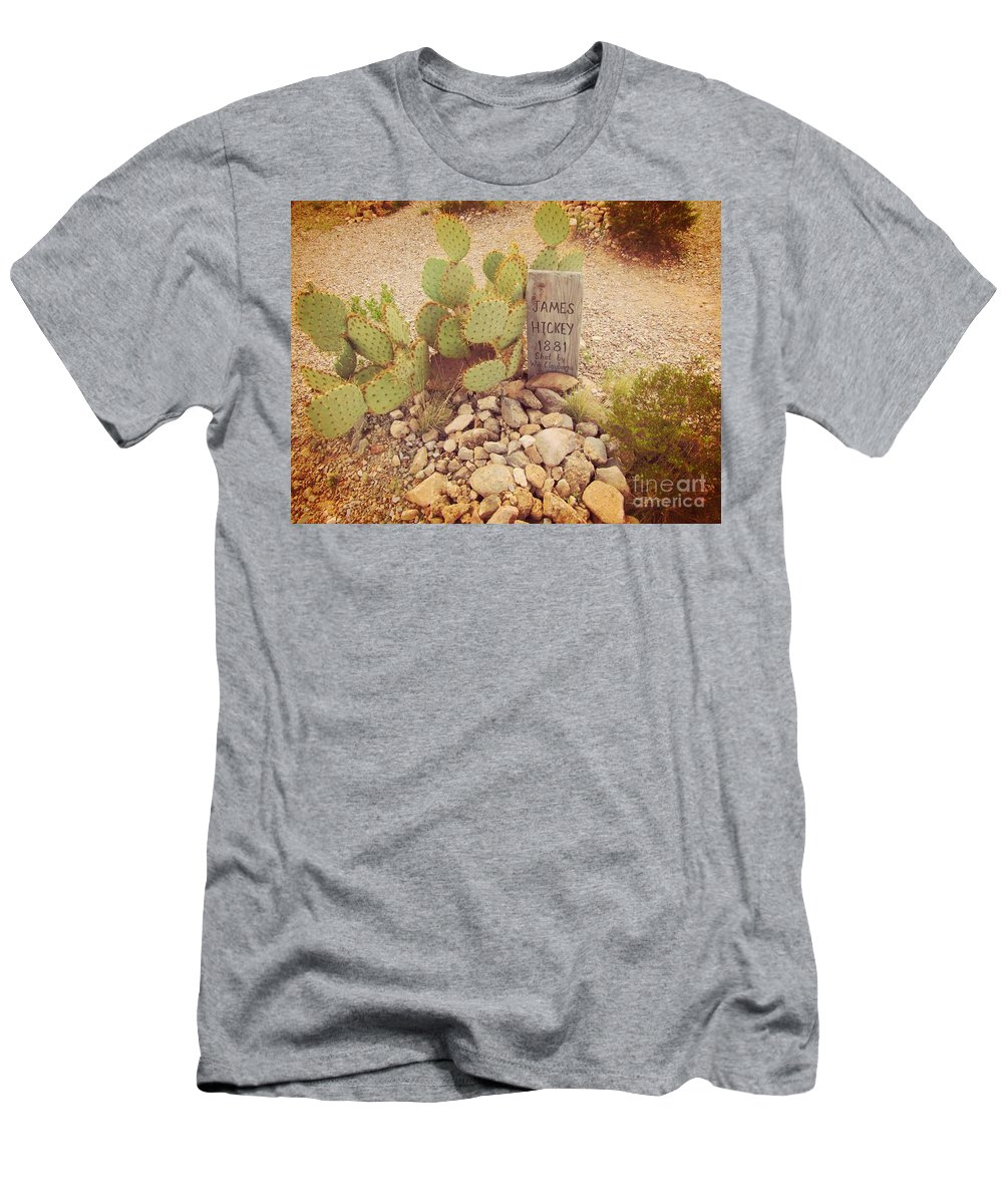 Murdered Men's T-Shirt (Athletic Fit) featuring the photograph Murdered by John Malone