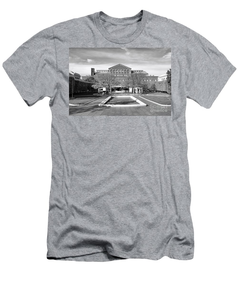 Washington Men's T-Shirt (Athletic Fit) featuring the photograph National Law Enforcement Officers Memorial by Olivier Le Queinec