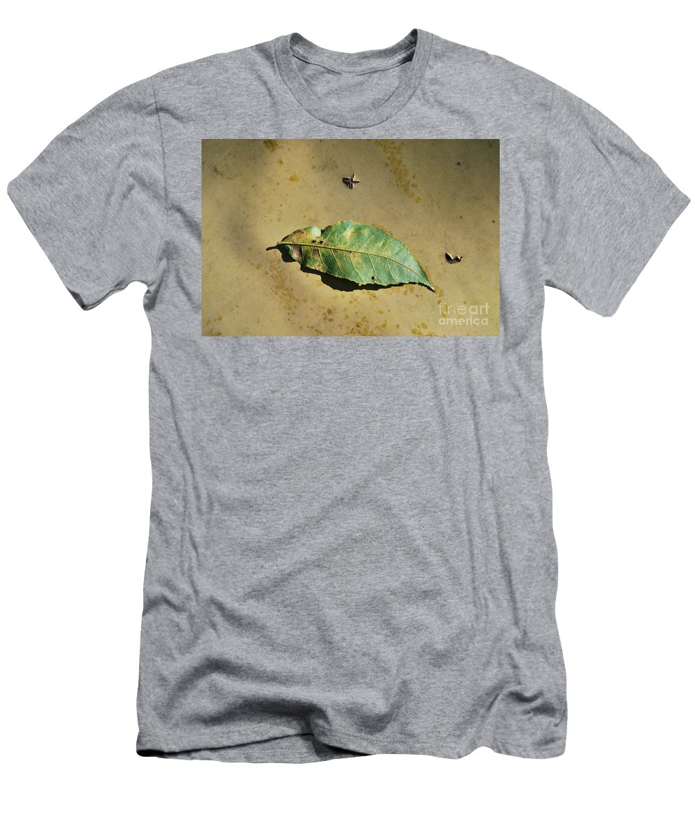 Never Men's T-Shirt (Athletic Fit) featuring the photograph Never The Same by Gary Richards