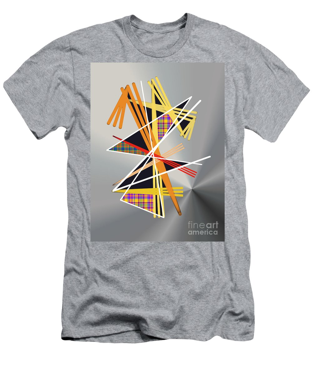 Men's T-Shirt (Athletic Fit) featuring the digital art No. 1141 by John Grieder