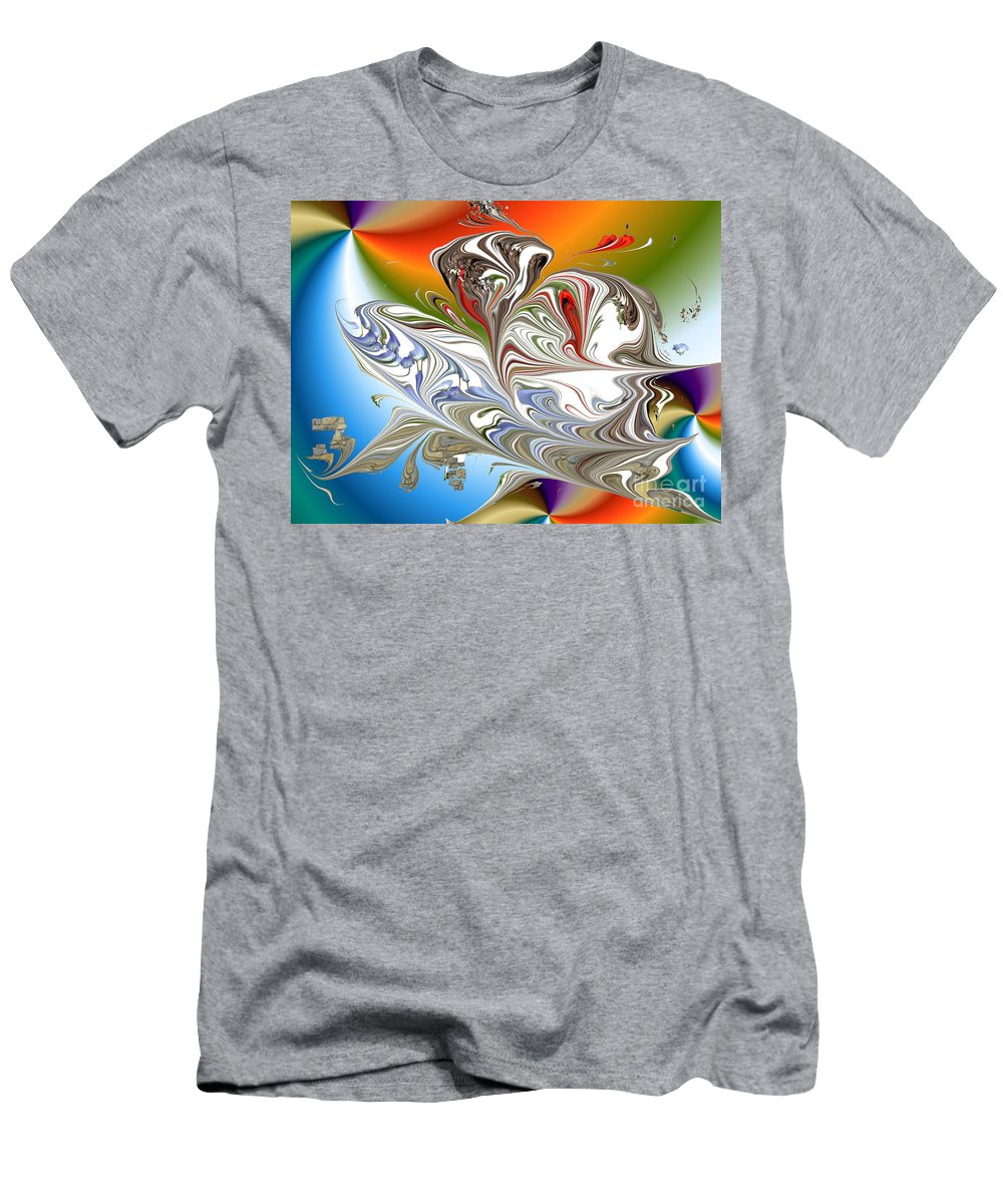 Men's T-Shirt (Athletic Fit) featuring the digital art No. 231 by John Grieder