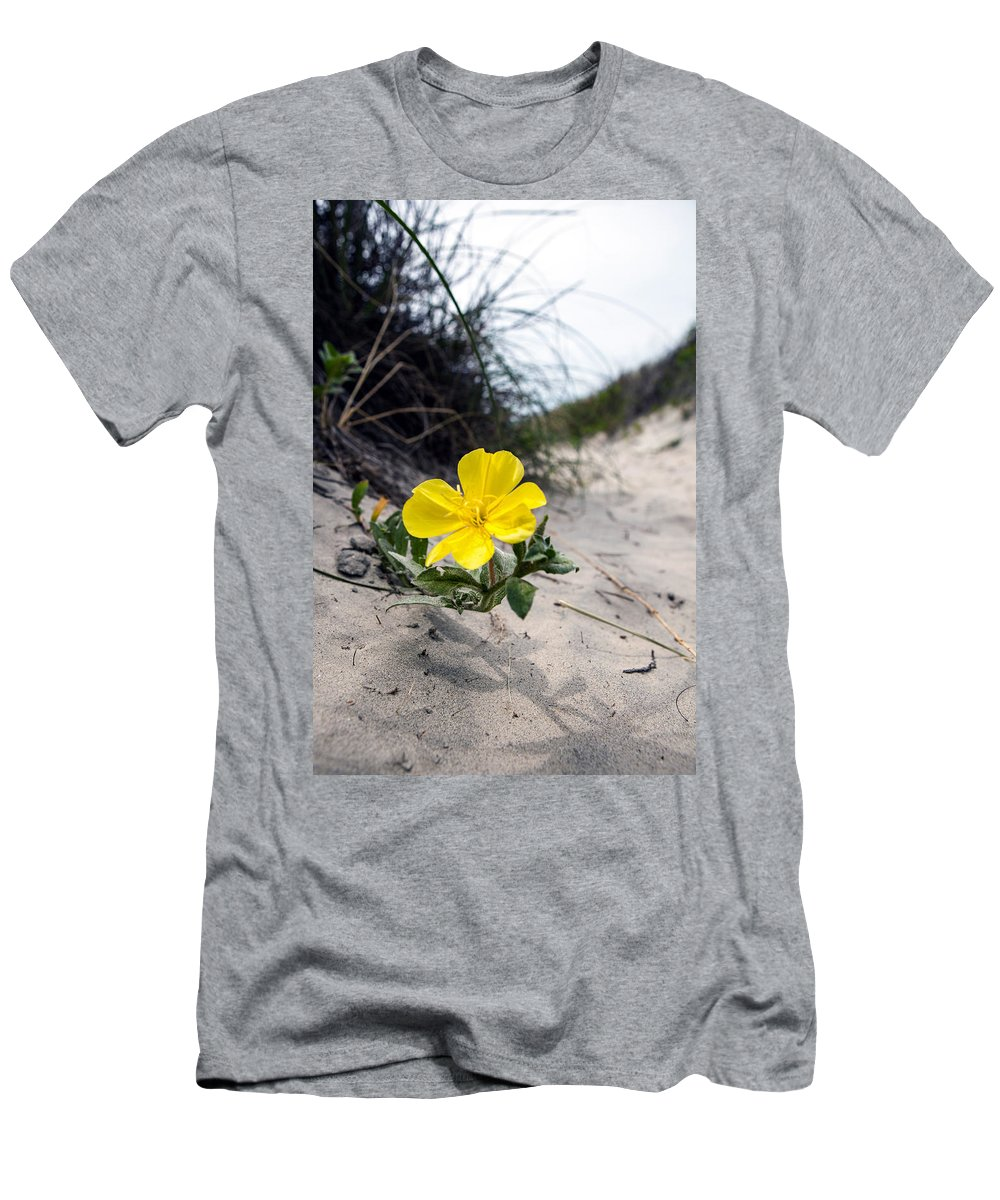 Landscape Men's T-Shirt (Athletic Fit) featuring the photograph On The Path by Sennie Pierson