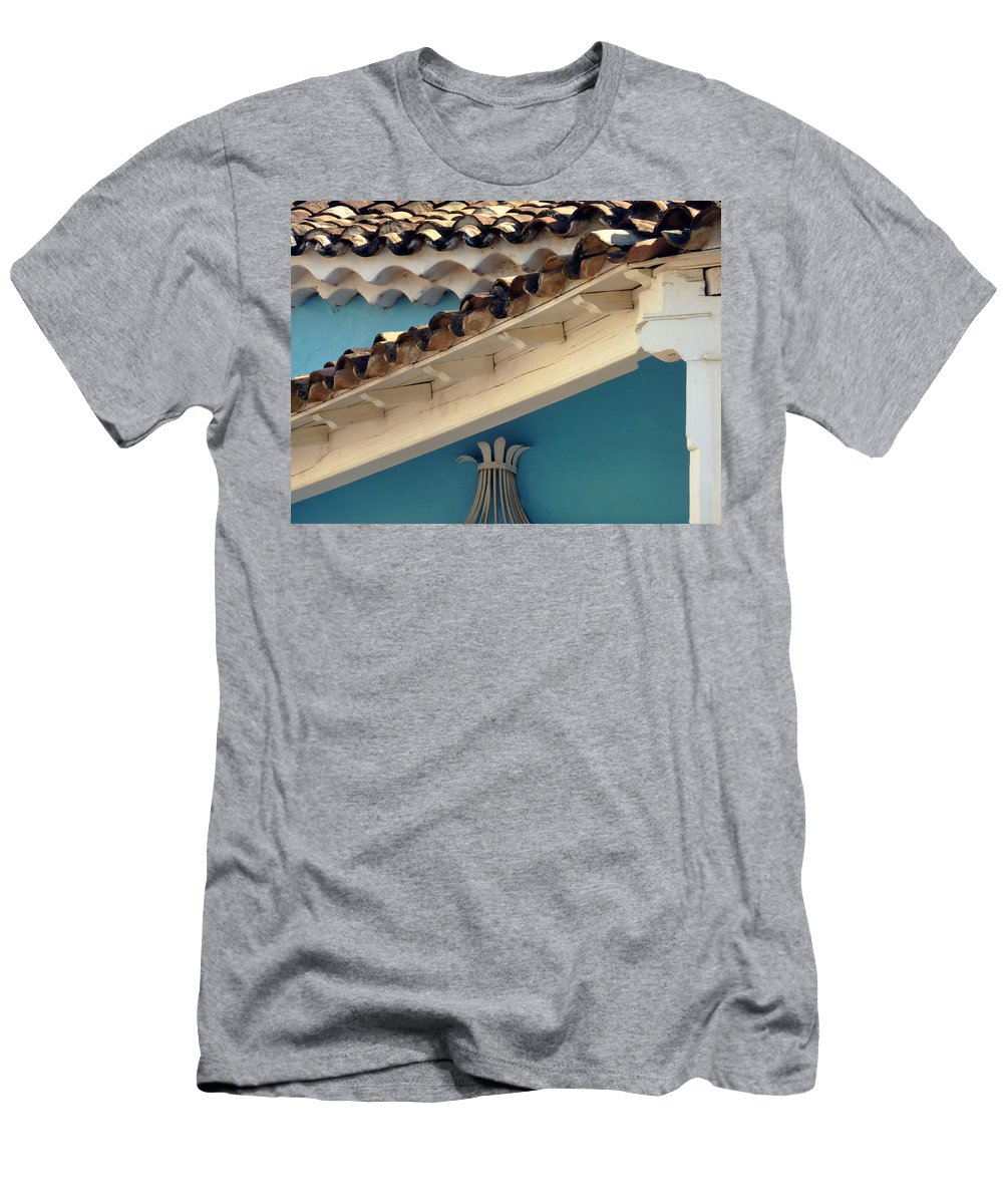 Abstract Men's T-Shirt (Athletic Fit) featuring the photograph On Top.. by A Rey