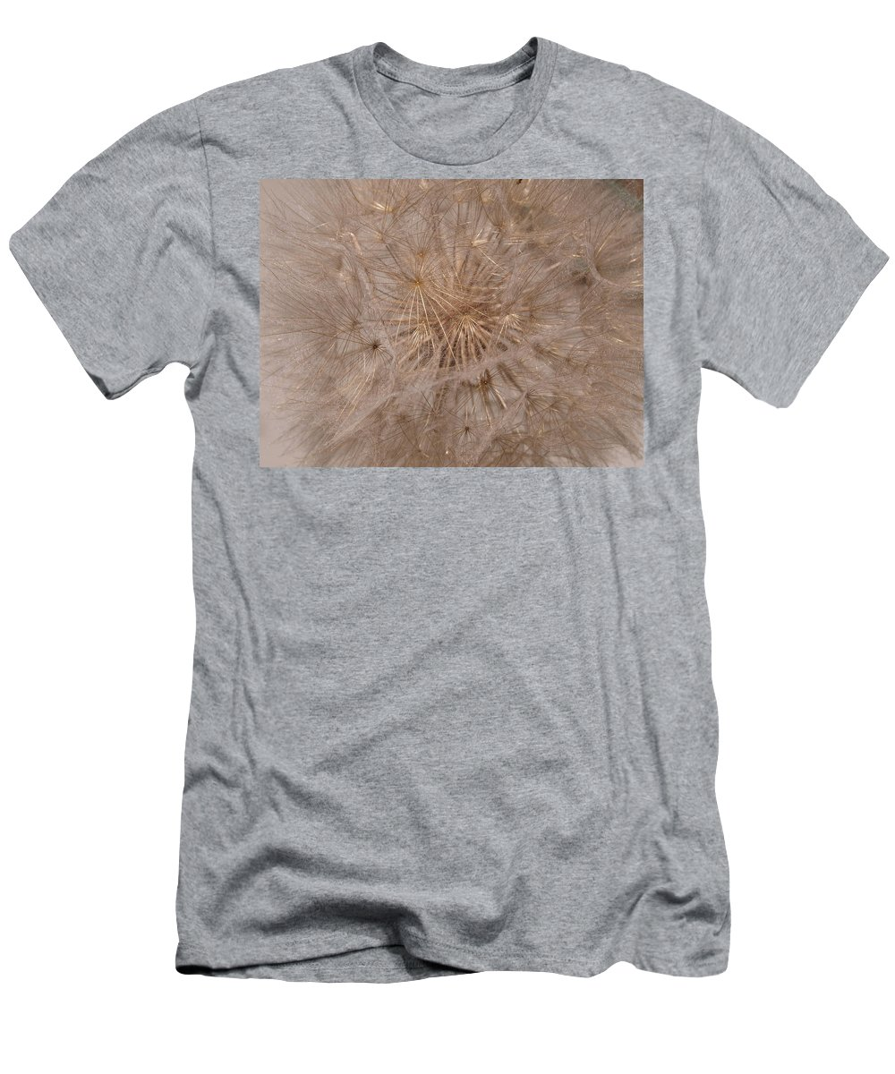 Puff Ball Men's T-Shirt (Athletic Fit) featuring the photograph Original Puff Ball by Teri Schuster