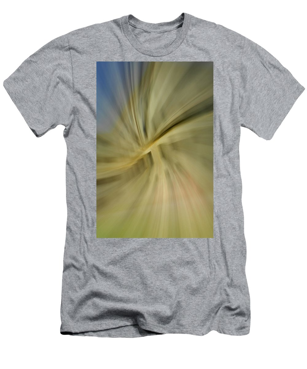 Architecture Men's T-Shirt (Athletic Fit) featuring the photograph Out Of Control by Donna Blackhall