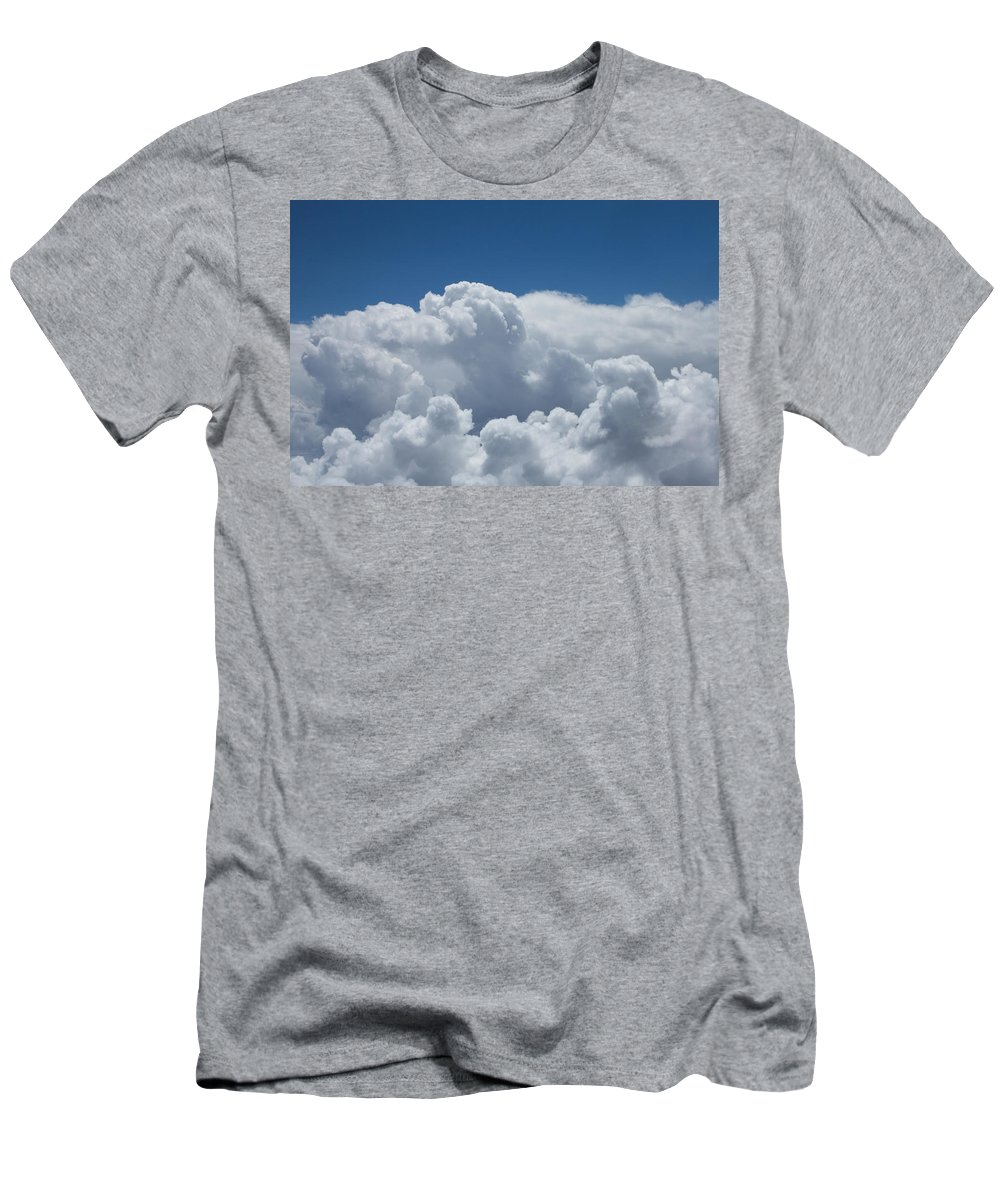 Pearl Men's T-Shirt (Athletic Fit) featuring the photograph Pearl And Cobalt by John Daly