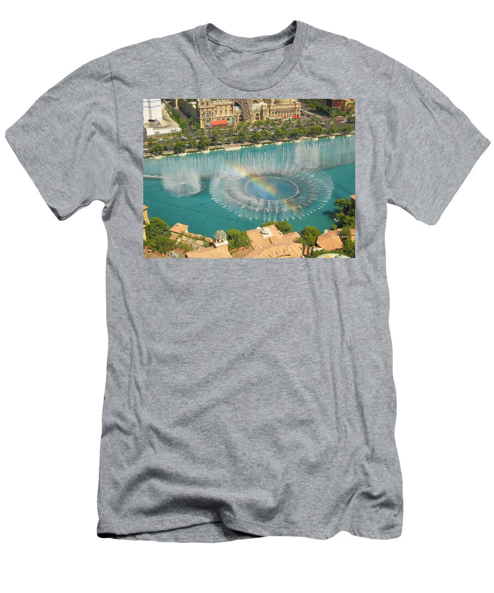 Paris Men's T-Shirt (Athletic Fit) featuring the photograph Promise by Angela J Wright