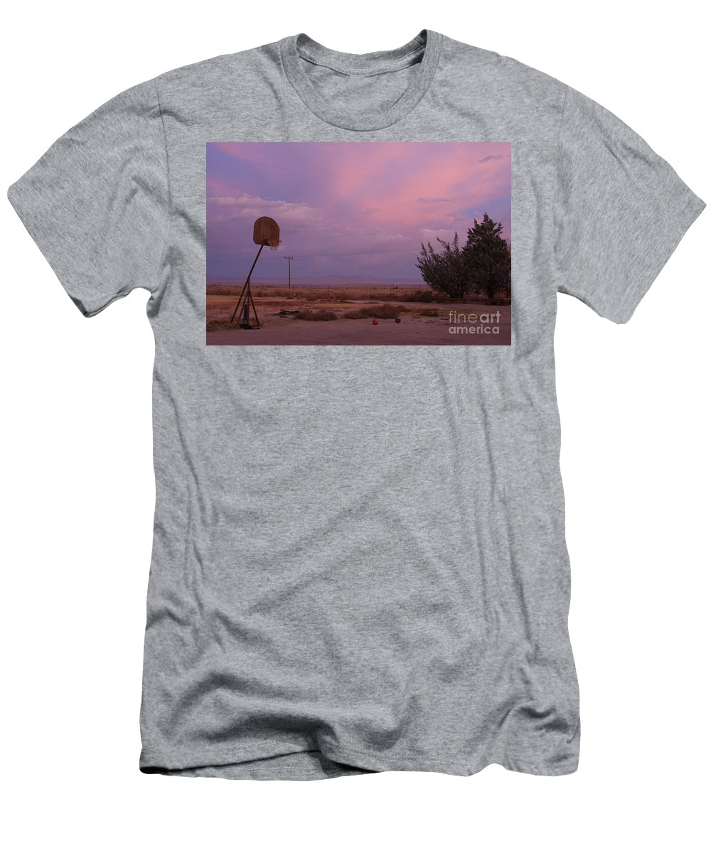 Basketball Men's T-Shirt (Athletic Fit) featuring the photograph Promise Of A New Day by Christina Gupfinger