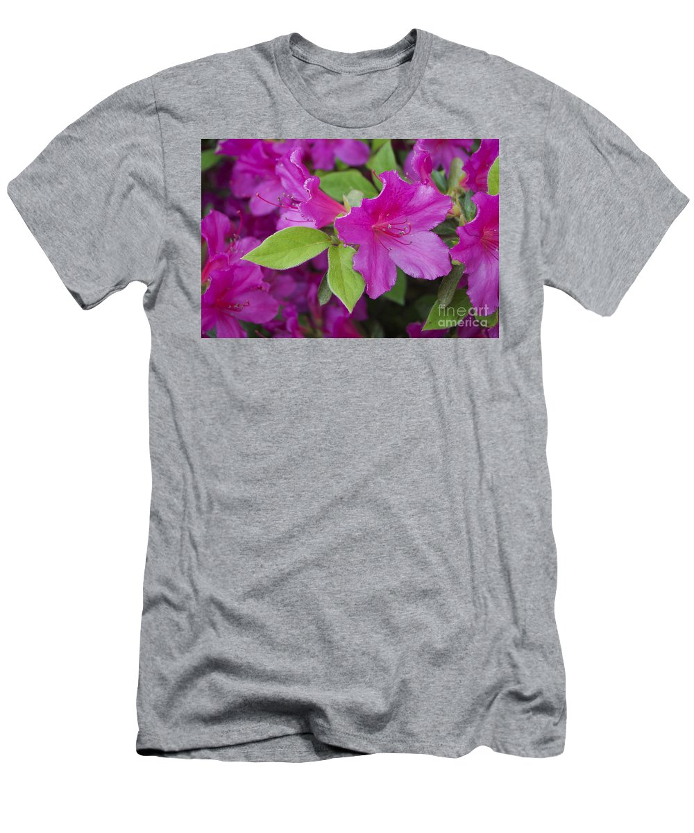 Nature T-Shirt featuring the photograph Red Azalea by Skip Willits