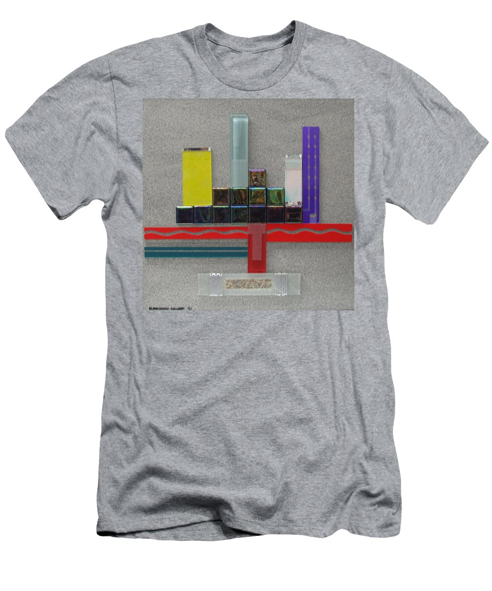 Assemblage Men's T-Shirt (Athletic Fit) featuring the relief Red River City by Elaine Booth-Kallweit