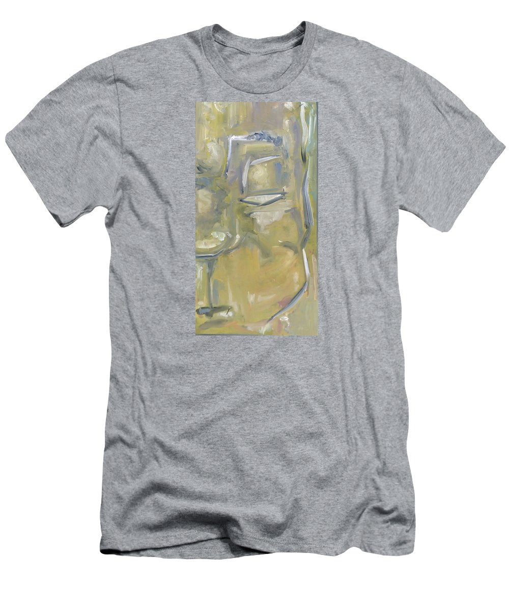 Art Men's T-Shirt (Athletic Fit) featuring the painting Relax by Bruce Davis