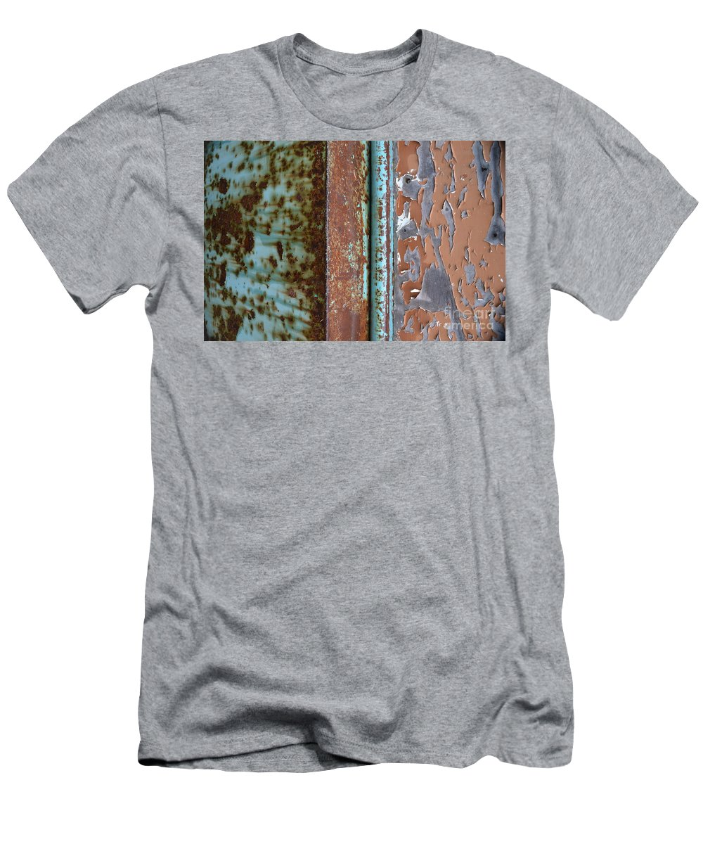 Repaint Men's T-Shirt (Athletic Fit) featuring the photograph Repaint Number Three by Brian Boyle