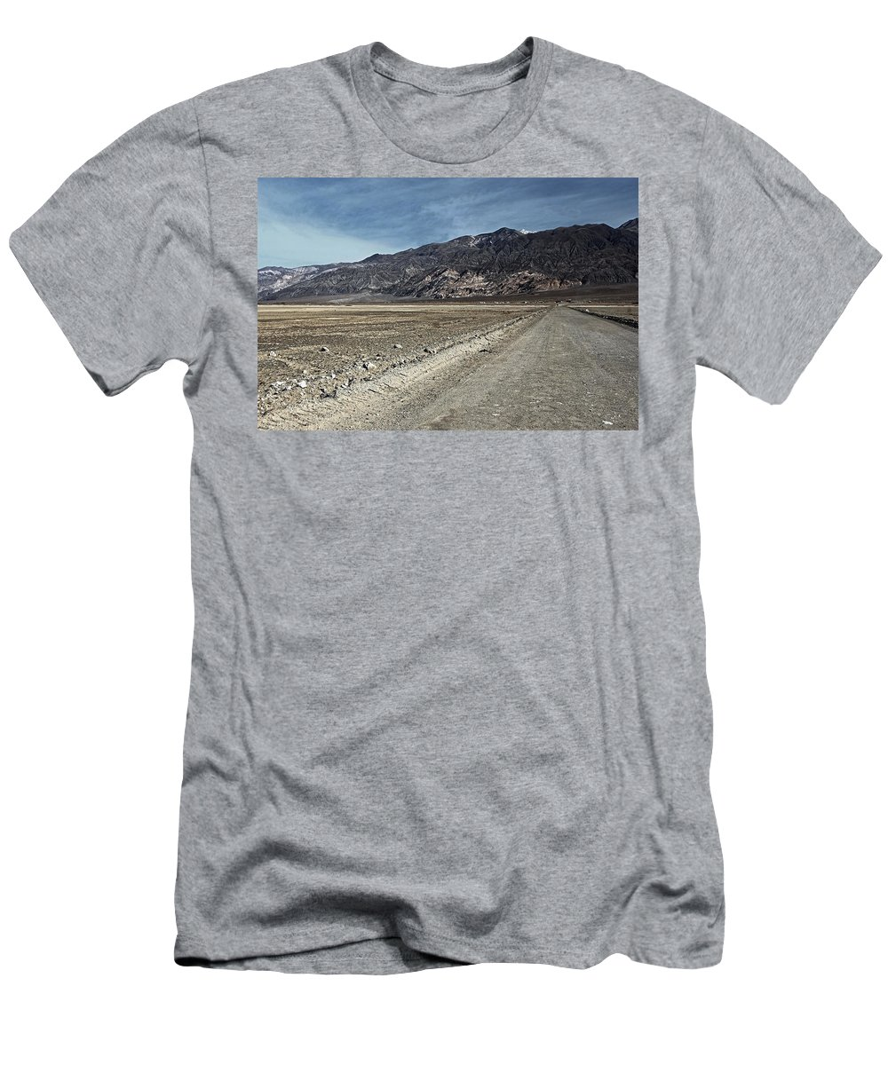 Road To Ballarat Men's T-Shirt (Athletic Fit) featuring the photograph Road To Ballarat by See My Photos