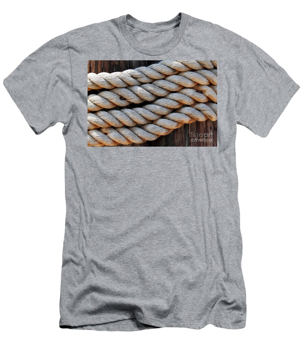 Old Men's T-Shirt (Athletic Fit) featuring the photograph Rope by Henrik Lehnerer